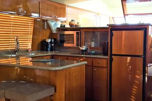 55' Navigator 55 Pilothouse 2012 Galley