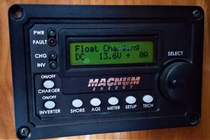 55' Navigator 55 Pilothouse 2012 Inverter Remote Control Panel