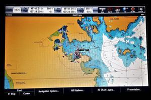 55' Navigator 55 Pilothouse 2012 Raymarine Hybrid Touch Chart Plotter