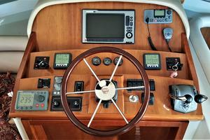 55' Navigator 55 Pilothouse 2012 Pilothouse Helm Area