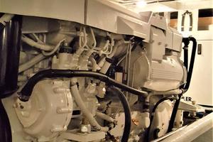 55' Navigator 55 Pilothouse 2012 Starboard Engine