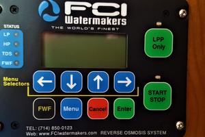 55' Navigator 55 Pilothouse 2012 FCI Water Maker Remote Panel