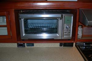 49' Hunter 49 2007 Large Cuisinart toaster oven