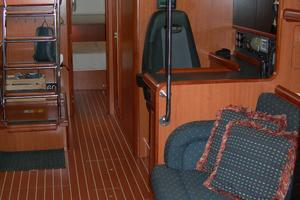 49' Hunter 49 2007 Looking aft
