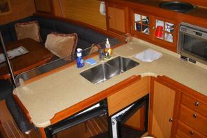 49' Hunter 49 2007 Galley fit for a seagoing chef