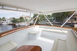 71' Jim Smith Custom Convertible 2011 Flybridge Seating