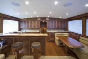 71' Jim Smith Custom Convertible 2011 Salon / Galley