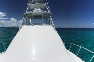 Isla Verde is a Cabo Flybridge Yacht For Sale in Stuart -With Tuna Tower-10