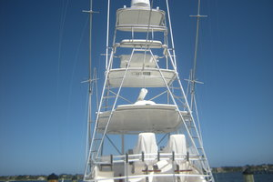 Isla Verde is a Cabo Flybridge Yacht For Sale in Stuart -Pictures of Tower Available on Request-11