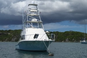 Isla Verde is a Cabo Flybridge Yacht For Sale in Stuart -At Rest-2