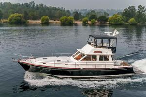 49' Alden Flybridge Express 49 2007 Underway (Port)
