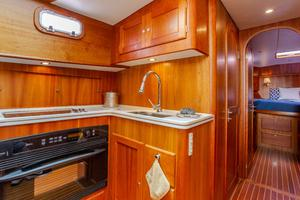 49' Alden Flybridge Express 49 2007 Galley and Hallway