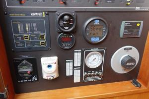 49' Alden Flybridge Express 49 2007 Electrical Panel (detail)