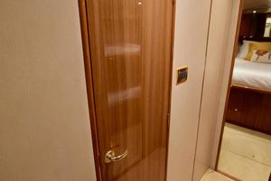 64' Viking Enclosed Bridge 2008 Companionway Storage