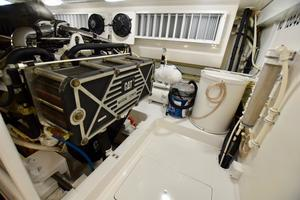 64' Viking Enclosed Bridge 2008 Engine Room