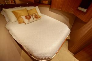 64' Viking Enclosed Bridge 2008 Forward VIP Stateroom