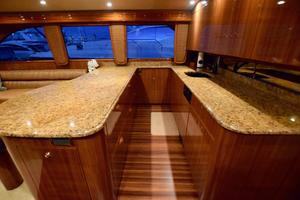 64' Viking Enclosed Bridge 2008 Galley