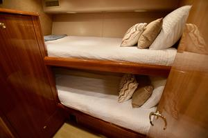 64' Viking Enclosed Bridge 2008 Starboard Guest Stateroom