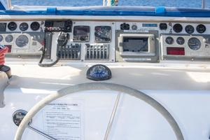 65' Custom 49 pax Day Charter Catamaran 2000 Helm