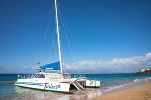 65' Custom 49 pax Day Charter Catamaran 2000 Beach landing