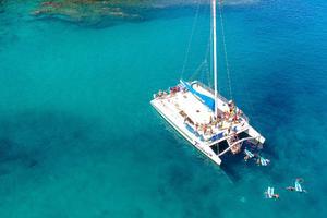 65' Custom 49 pax Day Charter Catamaran 2000 full snorkeling  mode