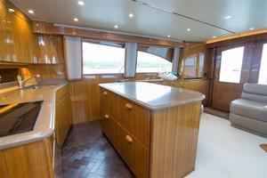 55' Viking Convertible 2014 Galley
