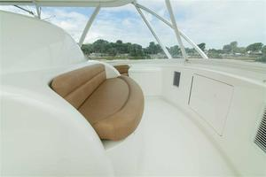 55' Viking Convertible 2014 Flybridge Seating