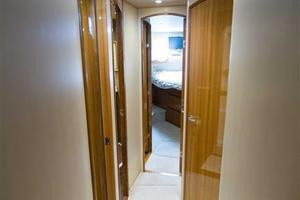 55' Viking Convertible 2014 Companionway