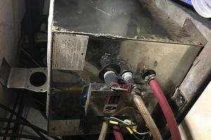 38' Marine Trader Double Cabin 1986 Midas Touch 1986 Marine Trader 38 Double Cabin Engine Room Water Heater.JPG