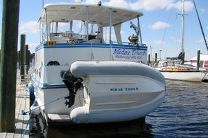 38' Marine Trader Double Cabin 1986 01 38' Marine Trader stern.JPG