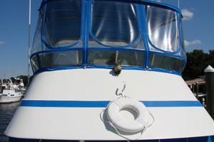 38' Marine Trader Double Cabin 1986 04 38' Marine Trader flybridge canvas.JPG