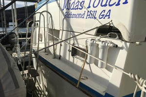 38' Marine Trader Double Cabin 1986 Midas Touch 1986 Marine Trader 38 Double Cabin Aft view.JPG