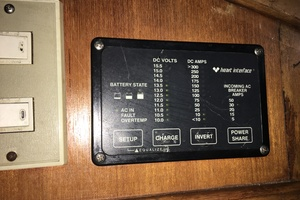 38' Marine Trader Double Cabin 1986 Midas Touch 1986 Marine Trader 38 Double Cabin Interior Electrical Panel 2.JPG
