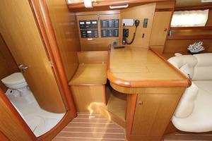45' Jeanneau Sun Odyssey 45 Shoal Draft 2007 Salon Navigation Station