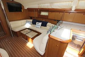 45' Jeanneau Sun Odyssey 45 Shoal Draft 2007 Starboard Salon W/Galley Aft & Convertible Settee