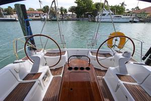 45' Jeanneau Sun Odyssey 45 Shoal Draft 2007 Port & Starboard Helm Stations