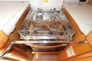 45' Jeanneau Sun Odyssey 45 Shoal Draft 2007 Stainless 4-Burner Propane Stovetop & Oven