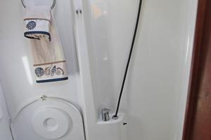 45' Jeanneau Sun Odyssey 45 Shoal Draft 2007 Forward Head Shower Stall