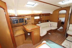 45' Jeanneau Sun Odyssey 45 Shoal Draft 2007 Salon To Port W/Navigation Station & Settee