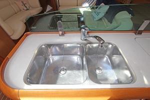 45' Jeanneau Sun Odyssey 45 Shoal Draft 2007 Stainless Double Sink