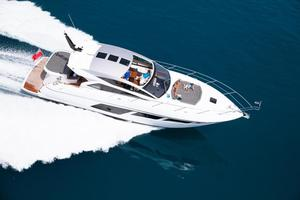 57' Sunseeker Predator 57 2017 Manufacturer Provided Image: Sunseeker Predator 57 Aerial View