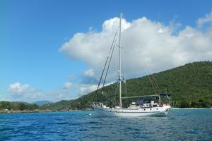 50' Mikelson Pilothouse Cutter 1987 50 Mikelson on Island Time