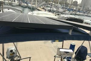 50' Mikelson Pilothouse Cutter 1987 50 Mikelson Solar Panels