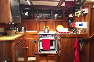 50' Mikelson Pilothouse Cutter 1987 50 Mikelson Galley