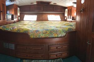 50' Mikelson Pilothouse Cutter 1987 50 Mikelson Master Stateroom