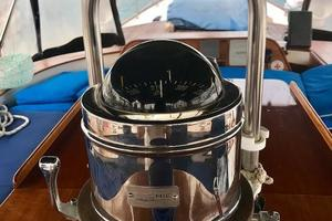 50' Mikelson Pilothouse Cutter 1987 50 Mikelson Helm Compass