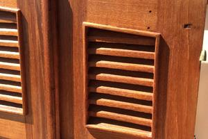 50' Mikelson Pilothouse Cutter 1987 50 Mikelson Teak Companionway