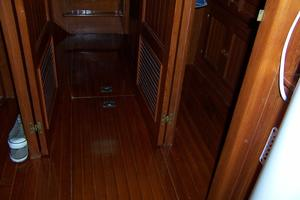 50' Mikelson Pilothouse Cutter 1987 50 Mikelson Teak & Holly Flooring