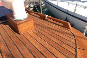 50' Mikelson Pilothouse Cutter 1987 50 Mikelson Beautiful Teak 2