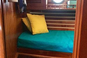 50' Mikelson Pilothouse Cutter 1987 50 Mikelson Port Stateroom